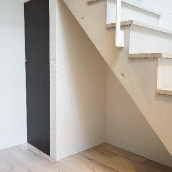 階段下、どうする?