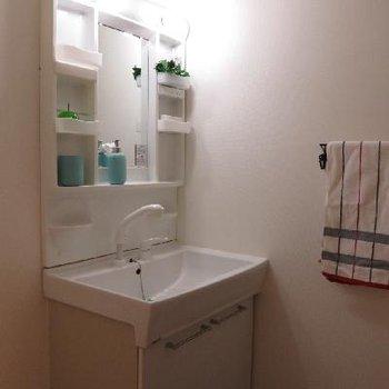洗面台&脱衣所