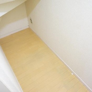 階段下の収納です!。大きい!