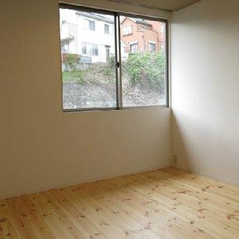 二階の個室です。