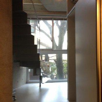 階段自然とともに※画像は別部屋