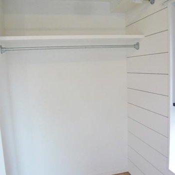 オープンクローゼット ※写真は別部屋です