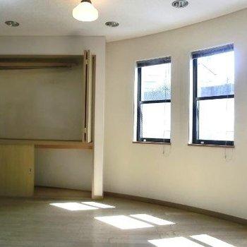 まるーい壁が愛らしいですね※前回募集時の写真です