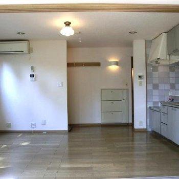 LDK部分は割りと四角いため、家具の配置もしやすそう