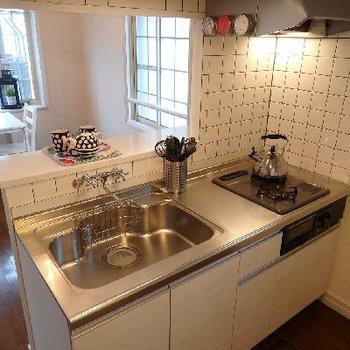 キッチンは最新のモノを使用しています※写真は前回募集時のものです。