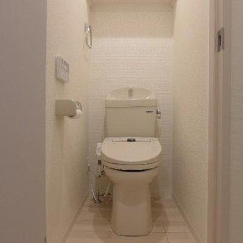 トイレはウォシュレット※前回募集時の写真です。
