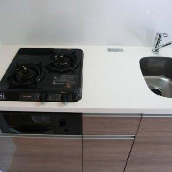 キッチンきれい!