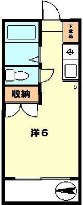久米川23分アパート の間取り