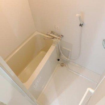 手狭ですが、お風呂もキレイ。