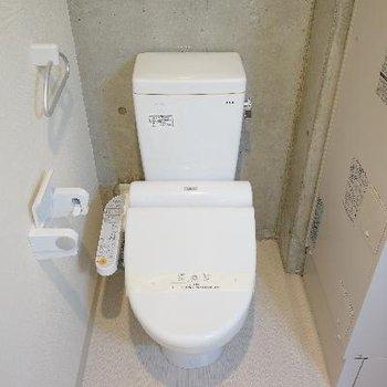 トイレは高機能!
