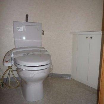 トイレも広めです。