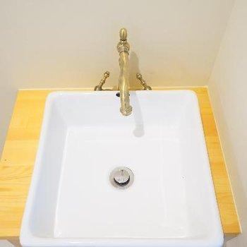 可愛い洗面台♪ ※写真は前回募集時のものです