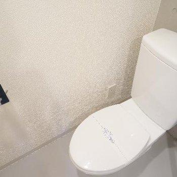 横にはトイレです。※写真は一部、前回募集時のものです
