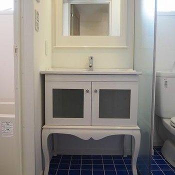 かわいい洗面台