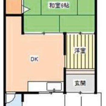 和室がありますよ。