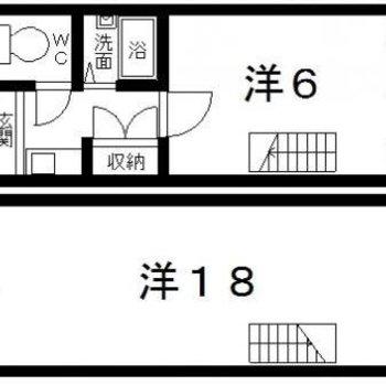 2階はなんと18帖…!!