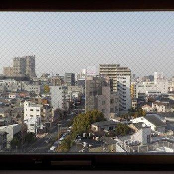 もう一つの窓からもいい眺め!