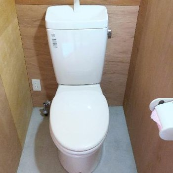 トイレはシンプルに。