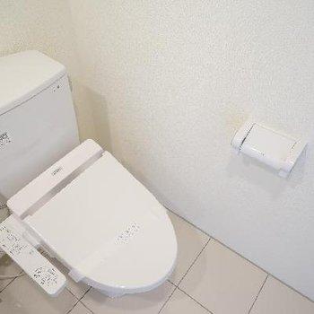 トイレも高機能!