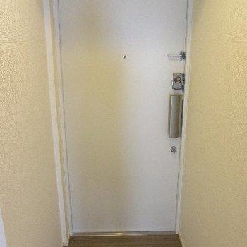 玄関もスタイリッシュ!