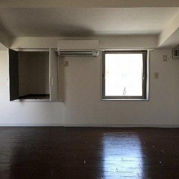13.5帖の洋室は屋根裏部屋みたいでした!