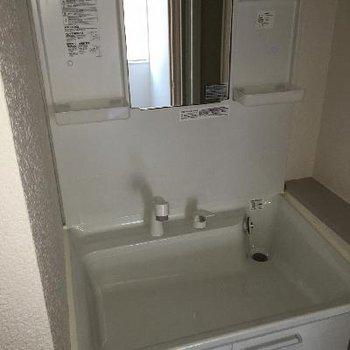 4階にも独立洗面台があるので朝の強奪戦もなさそう