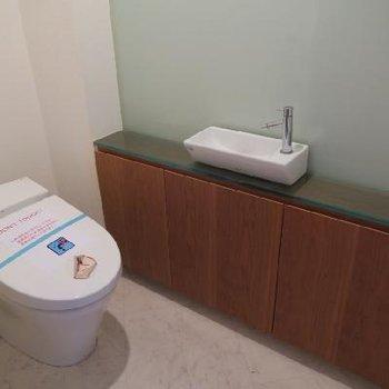 トイレもゆったり空間