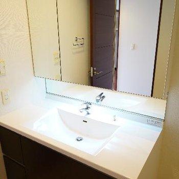 超ゆったりな洗面台!