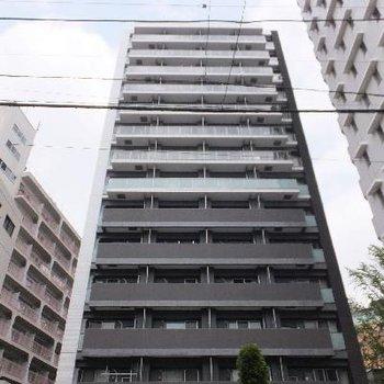 14階建の立派なマンションです。