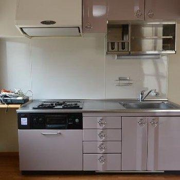 収納多めなシステムキッチン