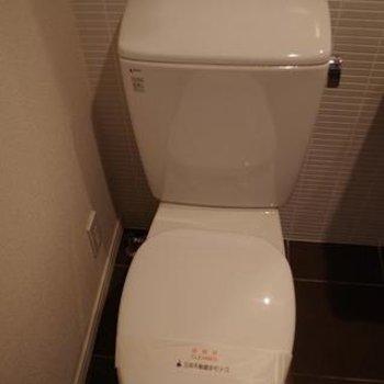 トイレです。 ※写真は別部屋です。