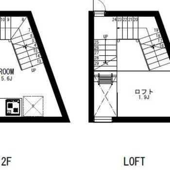 4層のお部屋!