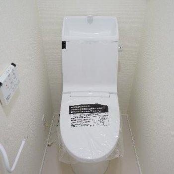 トイレも高機能で◎