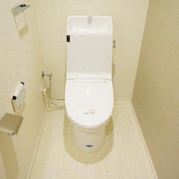 広々トイレ高機能!