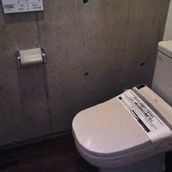 トイレも広い!※写真は別部屋です