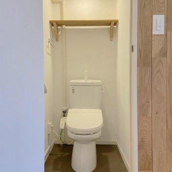 トイレはウォシュレットつき◎