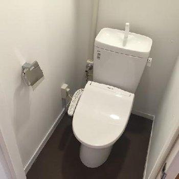 トイレはウォシュレットつき◎※写真は前回募集時のものです