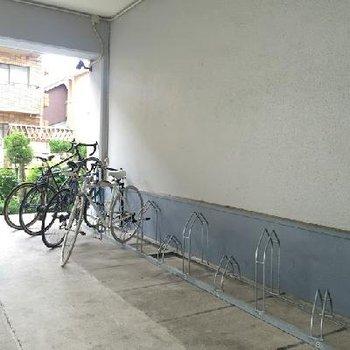 自転車があれば駅まですいすーい!