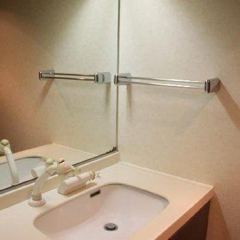 ホテルライクな洗面所
