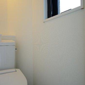 トイレには窓がついて◎