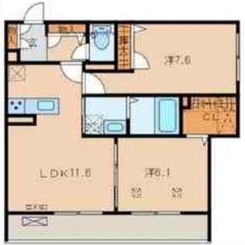 各スペースが広々。どのお部屋にいくにもキッチンを通るので、コミュニケーションがうまれそう!