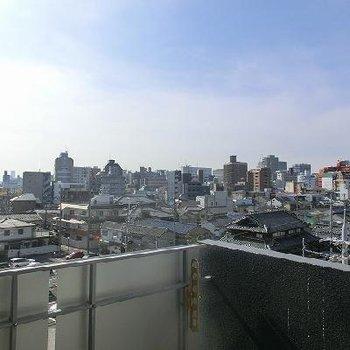 5階からの眺望も良好ですね※写真は前回募集のお部屋