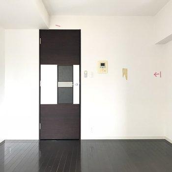 ドアのデザインが面白い※ 写真は前回募集時のものです