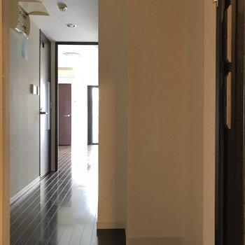 玄関からの眺め※ 写真は前回募集時のものです