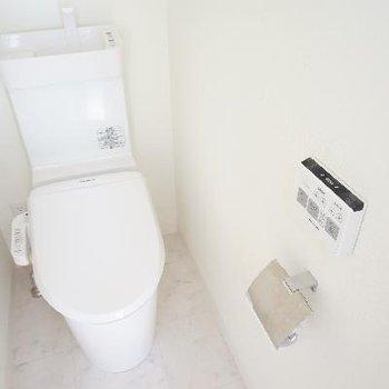トイレはウォシュレット付♪