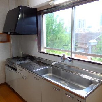 立派なキッチン、み~つけた!!
