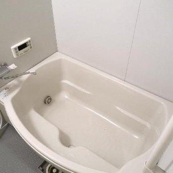 お風呂もゆったり〜。