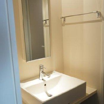 洗面台も、うらやましい。※写真は別部屋