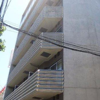 コンクリートの外観