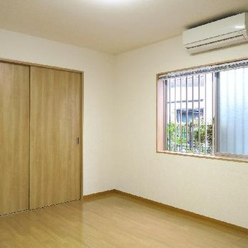 窓からの景色は、1階だけど問題無し。